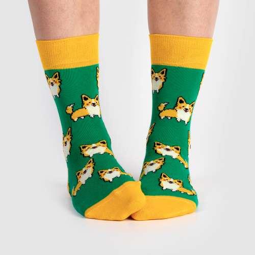 Яркие носки Babushka женские G21