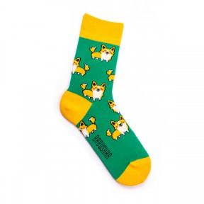 Дизайнерские носки с Корги G21