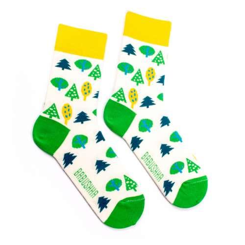 Яркие носки Babushka женские G23