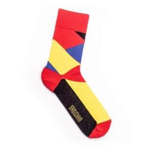 Цветные носки Геометрия M21