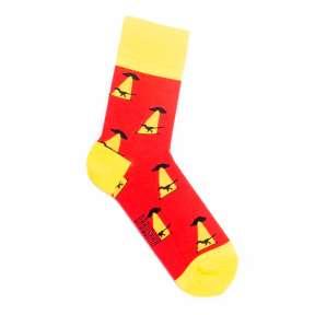 Цветные носки НЛО и динозавр M23