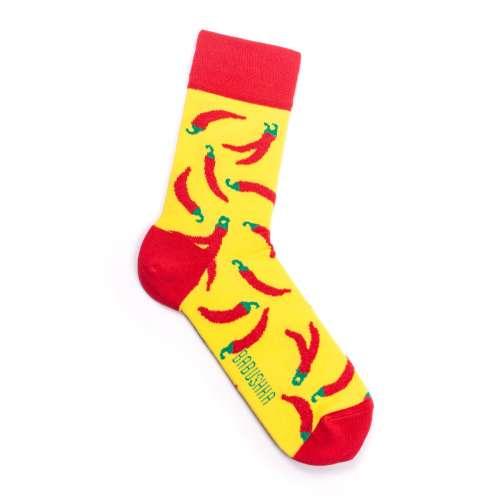 Мужские носки с перцами