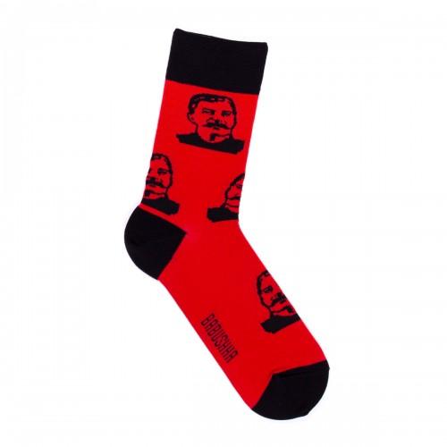 Красные носки со Сталиным
