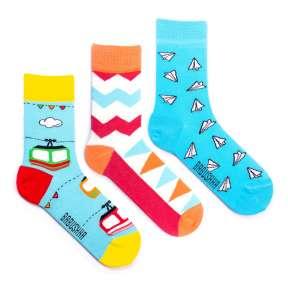 3 пары, набор цветных носков CG-4