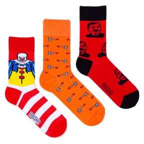 3 пары, набор цветных носков CM-1