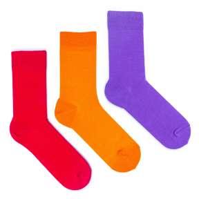 3 пары, набор цветных носков CM-11