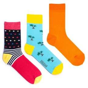 3 пары, набор цветных носков CM-13
