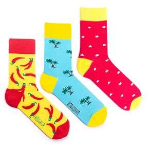 3 пары, набор цветных носков CM-2