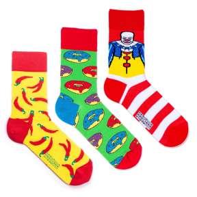 3 пары, набор цветных носков CM-6