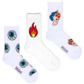 3 пары набор носков со спортивной резинкой SP3-5