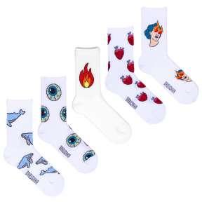 5 пар набор носков со спортивной резинкой SP5-3