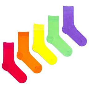 5 пар, набор цветных носков VG-6