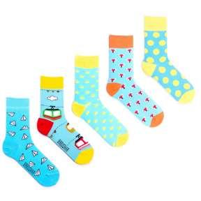 5 пар, набор цветных носков VG-9