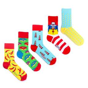 5 пар, набор цветных носков VM-10