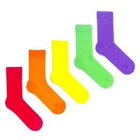 5 пар, набор цветных носков VM-6
