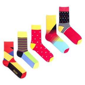 5 пар, набор цветных носков VM-7