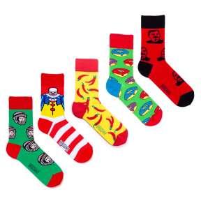 5 пар, набор цветных носков VM-8