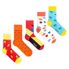 5 пар, набор цветных носков VM-9