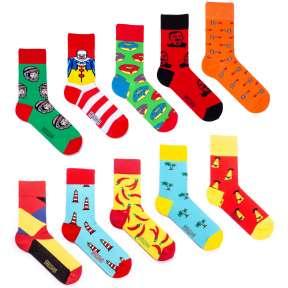 10 пар, набор цветных носков XM-2