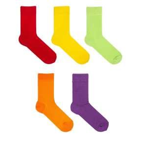 5 пар набор детских цветных носков Babushka KP1-4
