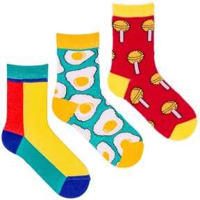 3 пары набор детских цветных носков Babushka 3K-4