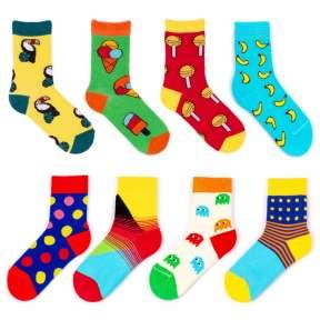 8 пар набор детских цветных носков Babushka 8K1