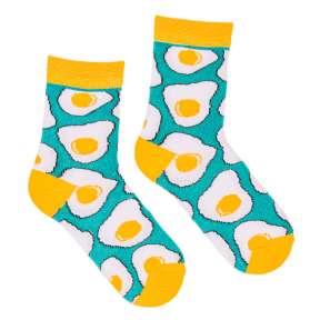 Детские носки с яичницей Д10