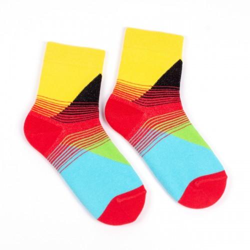 Детские носки с ярким орнаментом Д2