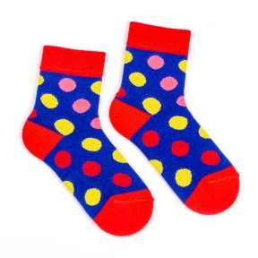 Детские носки с кружочками Д5