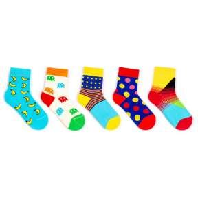 5 пар набор детских цветных носков Babushka KP1