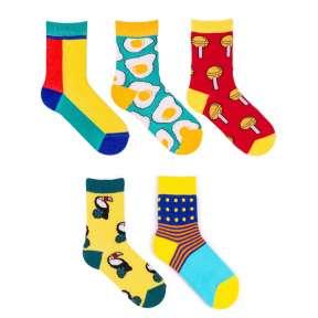 5 пар набор детских цветных носков Babushka KP1-3