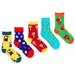 5 пар набор детских цветных носков Babushka KP2