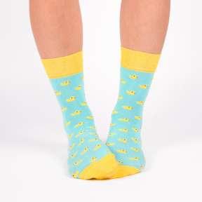 Цветные носки с уточками G11