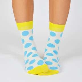 """Цветные носки с кругами """"Барселона"""" G5"""