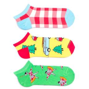 3 пары, набор коротких цветных носков 3MK1