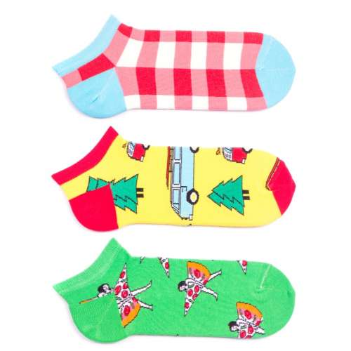 Набор цветных мужских носков, 3 пары