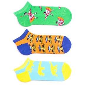 3 пары, набор ярких цветных носков 3MK2