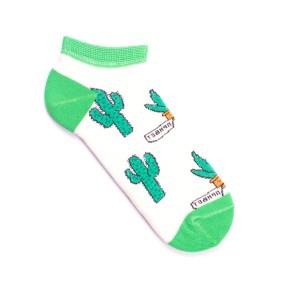 Цветные носки с кактусами GK2