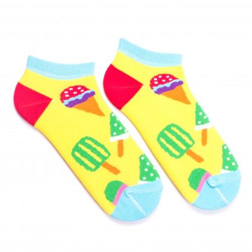 Цветные носки с мороженым
