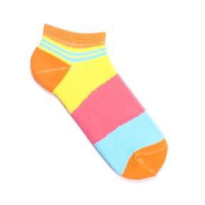 Цветные носки с яркими линиями GK4