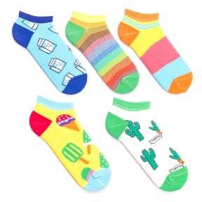 5 пар, набор коротких цветных носков GKP5