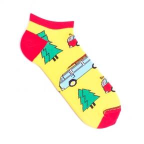 Цветные носки с машинками и медведями MK3