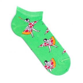 Цветные носки с пиццей MK5