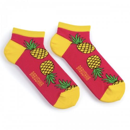 Цветные носки с ананасами MK6