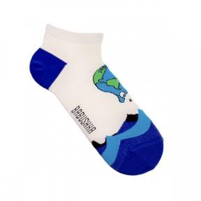 Цветные носки Глобальное потепление MK7