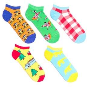 5 пар, набор коротких цветных носков MKP5