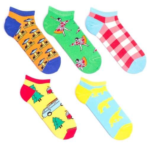 Набор цветных мужских носков, 5 пар