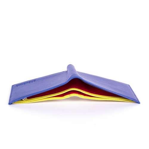 Цветной кошелёк из натуральной кожи