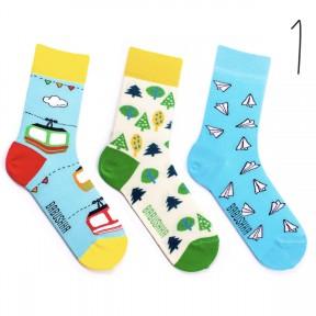 Набор цветных носков Babusha 3 пары G3-1