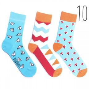 Набор цветных носков Babusha 3 пары G3-10